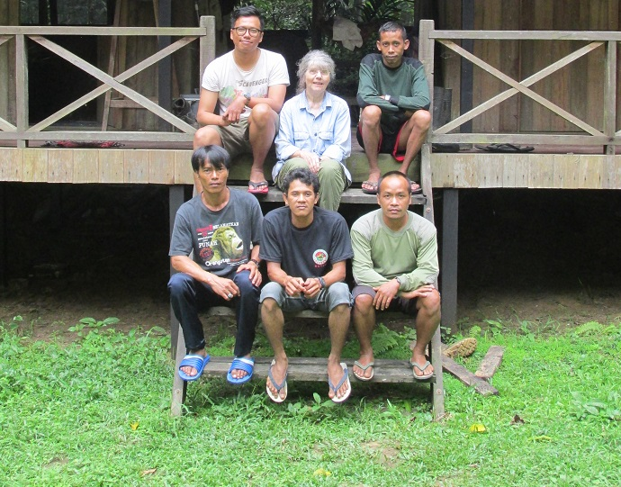 Dr. Anne Russon and the team at the Orangutan Kutai Project