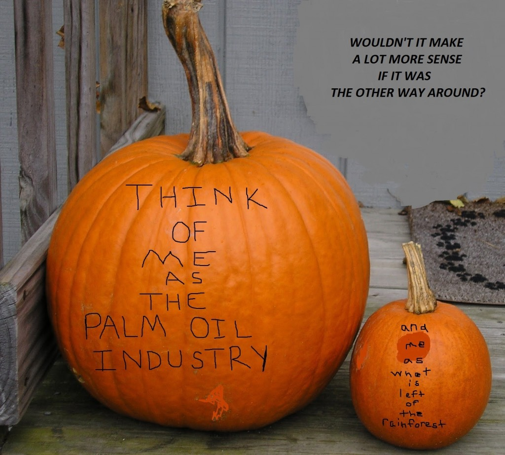 Pongos on Pumpkins Conservation Contest