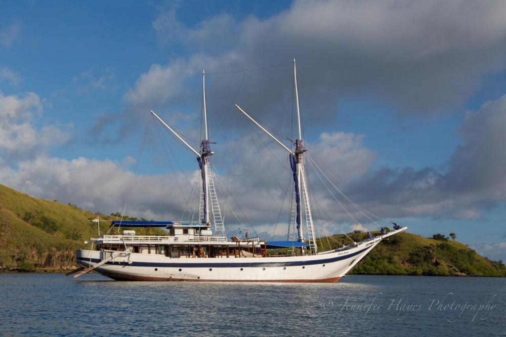 One of the special silent auction items at our fundraiser will be a SeaTrek schooner cruise around Indonesia