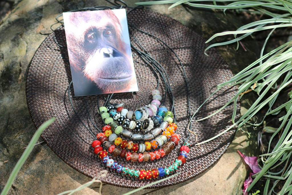 These handmade necklaces are available for bidding on our Facebook page in advance of our September 19th fundraiser.