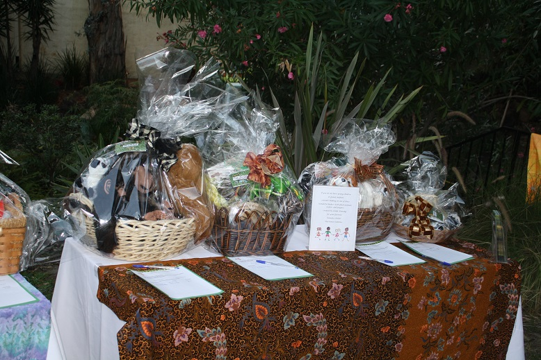 Silent auction items proved a popular part of the big night.